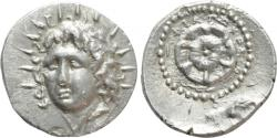 Ancient Coins - CARIA. Rhodes. Drachm (Circa 88/42 BC-AD 14). Philiskos, magistrate.
