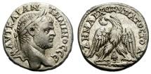 Ancient Coins - CARACALLA. BILLON TETRADRACHM. TYRE, PHOENICIA. VERY INTERESTING