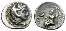 """Ancient Coins - ALEXANDER III """"The Great"""" 336-323 BC. AR HEMIDRACHM. TYRE MINT. RARE. VERY NICE."""