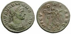 Ancient Coins - AURELIAN. BILLON DENARIUS. ROME. VICTORIA AVG. RARE !