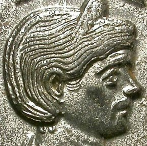 Ancient Coins - SEVERINA. BILLON ANTONINIANUS. ATTRACTIVE ISSUE