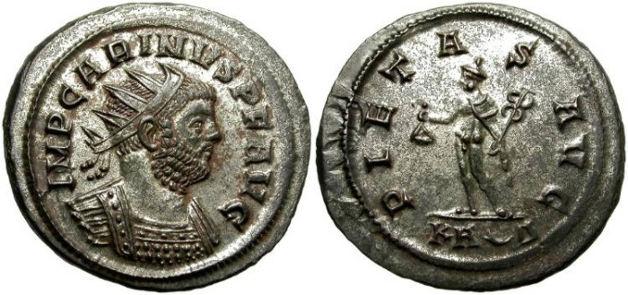 Ancient Coins - CARINUS.  AE  ANTONINIANUS. SPLENDID  PORTRAIT. GREAT QUALITY.