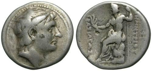 Ancient Coins - DEMETRIOS POLIORKETES. GOOD F.TETRADRACHM. MACEDON. AFFORDABLE STILL NICE PIECE !