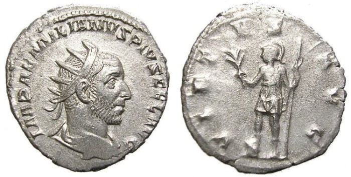 Ancient Coins - AEMILIAN  ANTONINIANUS.  VERY  INTERESTING  REVERSE.