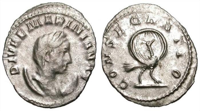 Ancient Coins - MARINIANA. ANTONINIAN. VF. INTERESTING AND ATTRACTIVE RARITY.