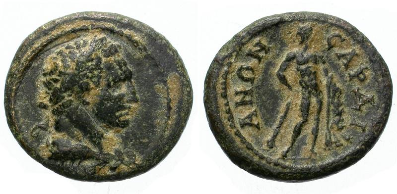 Ancient Coins - LYDIA. SARDES. PSEUDO-AUTONOMOUS. AE (2nd- 3rd centuries AD). BEAUTIFUL PIECE. NICE PORTRAIT