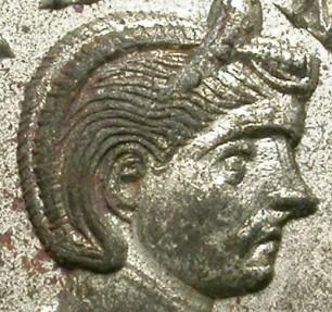 Ancient Coins - SEVERINA. AE DENAR. EXCELLENT QUALITY.