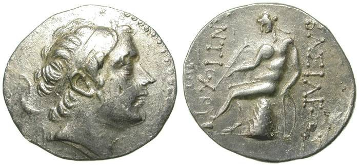 Ancient Coins - SELEUCID EMPIRE. ANTIOCHOS III. TETRADRACHM. ANTIOCH