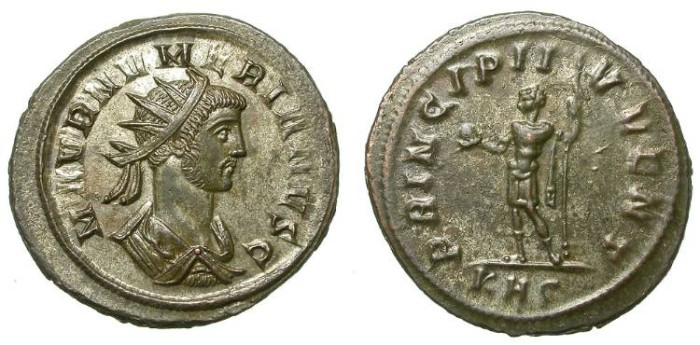 Ancient Coins - NUMERIAN. AE ANTONINIAN. GOOD CONDITION. SUCH A NICE PORTRAIT
