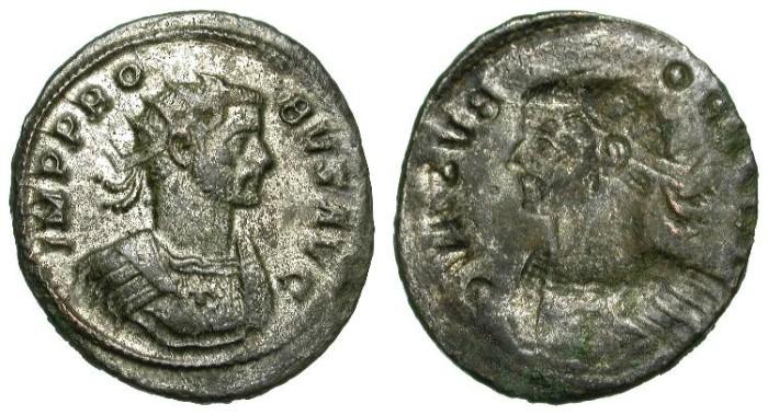 Ancient Coins - PROBUS. BROCKAGE ANTONINIAN. VERY RARE