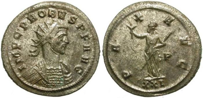 Ancient Coins - PROBUS.  AE  ANTONINIAN.  SISCIA  MINT.  ATRACTIVE  COIN.