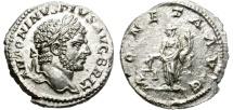 Ancient Coins - CARACALLA. AD. 198-213. SILVER DENARIUS. NICE PORTRAIT OF CARACALLA.