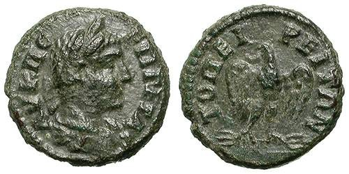 Ancient Coins - GETA. PROVINCIALAE. TOPIROS, THRACIA. VF. NICE & INTERESTING COIN