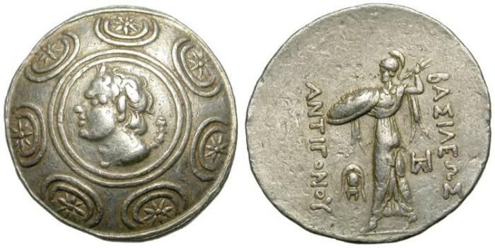 Ancient Coins - ANTIGONOS GONATAS. MACEDONIAN KINGDOM. TETRADRACHM. NICE