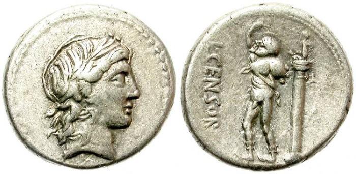 Ancient Coins - ROMAN REPUBLIC.  MARCIA  82 BC. AR DENARIUS. GOOD SILVER QUALITY. BEAUTIFUL PORTRAIT.