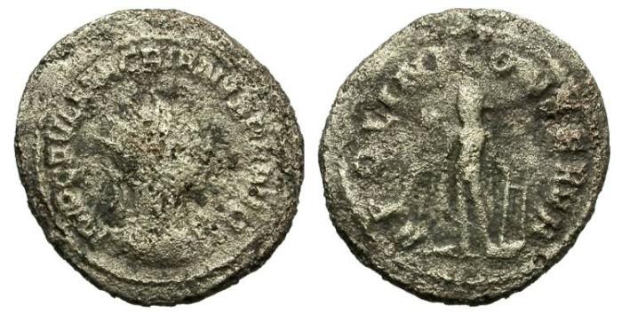 Ancient Coins - MACRIANUS. AD 260-261. ANTONINIANUS. SCARCE EMPEROR.