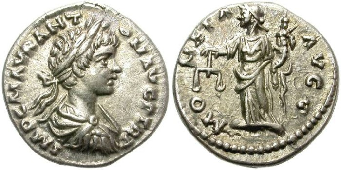 Ancient Coins - CARACALLA. 198-217 AD.  AR  DENARIUS. EXCELLENT PORTRAIT.