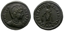 Ancient Coins - HELENA. AE FOLLIS. HERAKLEA MINT. NCIE COIN. SCARCE EMPRESS. NICE