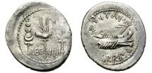 """Ancient Coins - ROMAN IMPERATORIAL PERIOD. MARC ANTONY. SILVER """"GALLEY"""" DENARIUS. LEG VIIII. VERY SCARCE  !"""