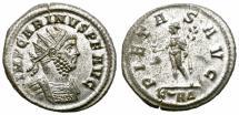 Ancient Coins - CARINUS. AD 283-285. ANTONINIANUS. ROME. NICE BUST.