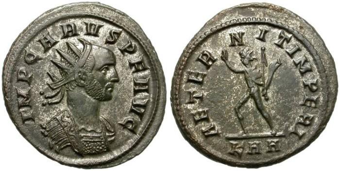 Ancient Coins - CARUS. BILLON ANTONINIANUS. NICE PORTRAIT. GOOD COIN