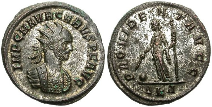 Ancient Coins - CARUS. BILLON ANTONINIANUS. ROME MINT. FANTASTIC PORTRAIT.