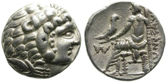Ancient Coins - ALEXANDER THE GREAT. TETRADRACHM. ARABIAN EMISSION. RARE AND SO NICE !