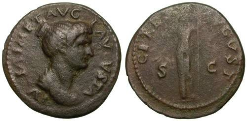 Ancient Coins - JULIA TITI. DUPONDIUS. AFFORDABLE RARE ISSUE