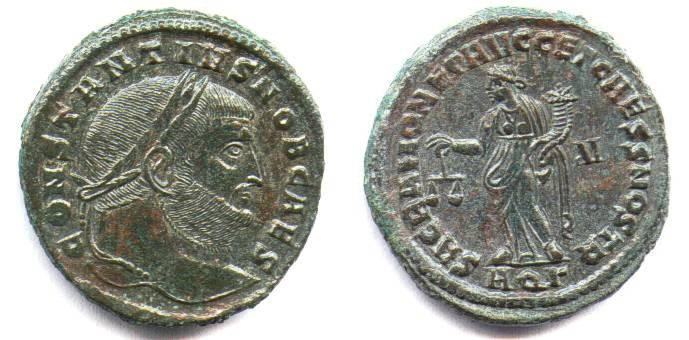 Ancient Coins - CONSTANTUIS. AQUILEIA FOLLIES. EF. NICE ISSUE !