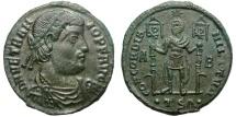 Ancient Coins - VETRANIO. AE MAIORINA. THESSALONICA. VERY NICE