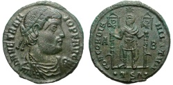 Ancient Coins - VETRANIO. AE MAIORINA. THESSALONICA. VERY NICE