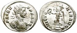 Ancient Coins - PROBUS. AD 276-282  ANTONINIANUS. ROME. AFFORDABLE.