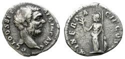 Ancient Coins - CLODIUS ALBINUS. DENARIUS. AD 194-195. ROME. INTERESTING COIN.