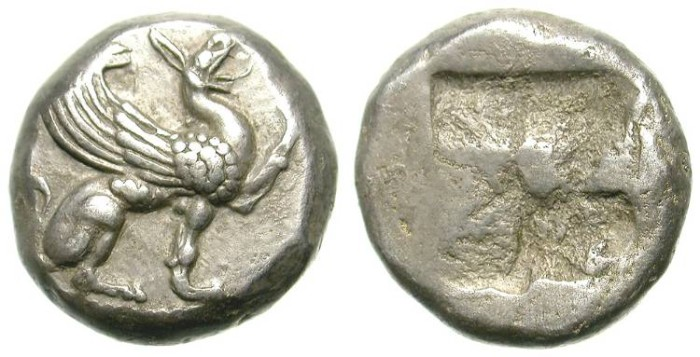 Ancient Coins - TEOS. HALF STATER. VERY NICE SPECIMEN. RARE
