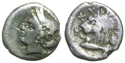 Ancient Coins - KYZICUS. HEMIDRACHM. RARE & INTERESTING ISSUE.