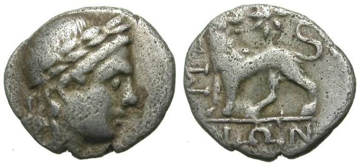 Ancient Coins - MILET. TETROBOL. SCARCE ISSUE. INTERESTING
