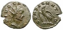 Ancient Coins - CLAUDIUS II GOTHICUS. POSTHUMOUS ISSUE. DIVO CLAVDIO. EAGLE
