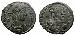 Ancient Coins - CONSTANTIUS II. (337-326)AD. MAIORINA. THESSALONICA. INTERESTING PRICE.