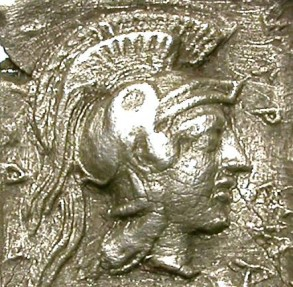 Ancient Coins - LYCIA. HEMIDRACHM. KHEREY (?). NICE REPRESENTATION OF ATHENA !
