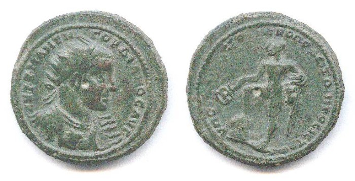 Ancient Coins - Colonial AE. Gordian III. Nice coin. VF