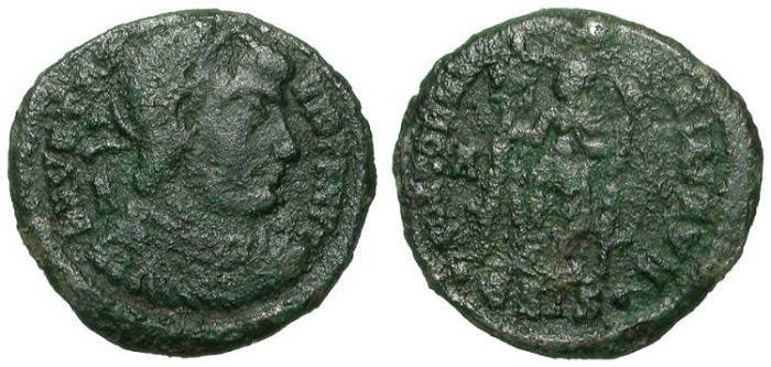 Ancient Coins - VETRANIO. MAIORINA. A VF. INTERESTING & AFFORDABLE
