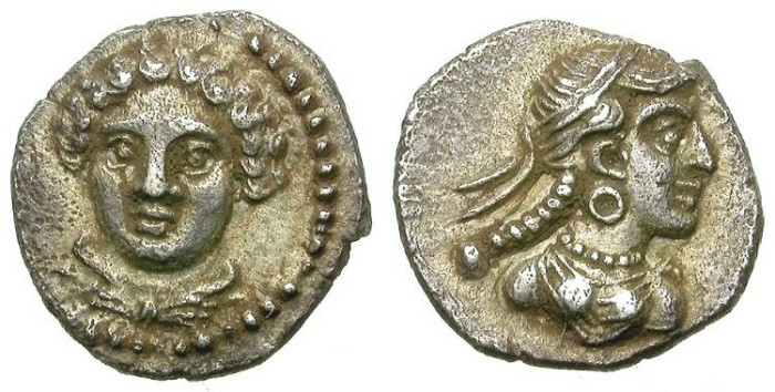 Ancient Coins - TARSOS. OBOL. PERFECT CONDITION. BEAUTIFUL ISSUE. GORGEOUS !