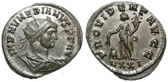 Ancient Coins - NUMERIAN. AE ANTONINIAN. EF. SUCH A NICE PORTRAIT !