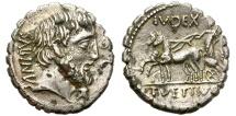 Ancient Coins - ROMAN REPUBLIC. FOUREE DENARIUS. VETTIA 2. RARE AND SO NICE