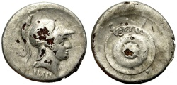 Ancient Coins - AUGUSTUS. FOUREE DENARIUS (SILVER PLATED). ATTRACTIVE & IINTERESTING ANCIENT COUNTERFEIT