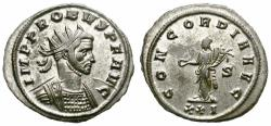 Ancient Coins - PROBUS. ANTONINIANUS. 276 - 282 AD. SISCIA. NICE BUST RIGHT. ATTRACTIVE.