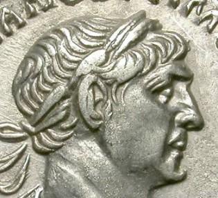 Ancient Coins - TRAIAN. DENAR. SUCH A BEAUTIFUL PORTRAIT !