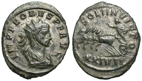 Ancient Coins - PROBUS. AE ANTONINIAN. SISCIA. INTERESTING BUST