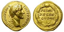 Ancient Coins - ROMAN EMPIRE. ANTONINUS PIUS. GOLD AUREUS. NICE ISSUE !
