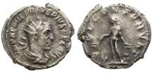 Ancient Coins - AEMILIAN. AR ANTONINIANUS. ROME, AD 253. RARE.